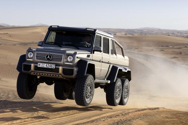 Mercedes Classe G 6x6
