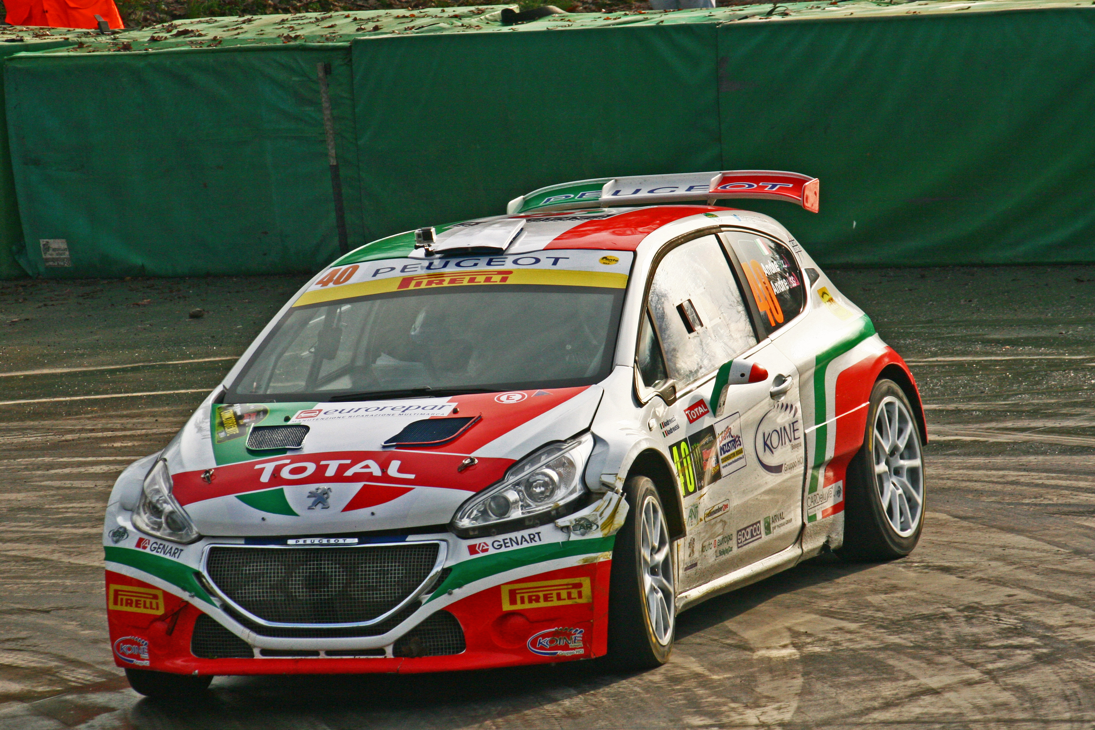 Andreucci Paolo - Andreussi Anna // Peugeot 208 T16