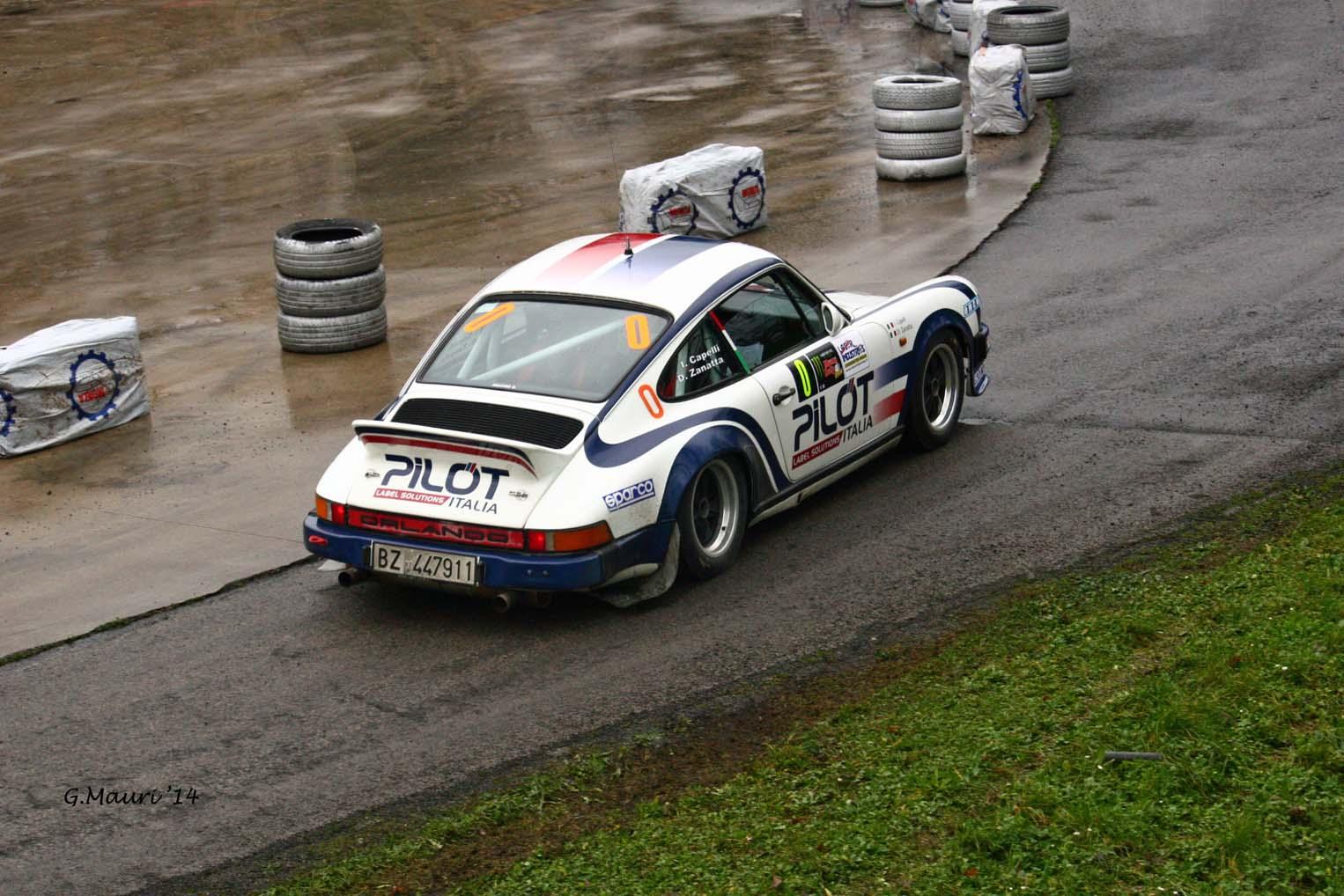 Ivan Capelli // Porsche vettura apripista