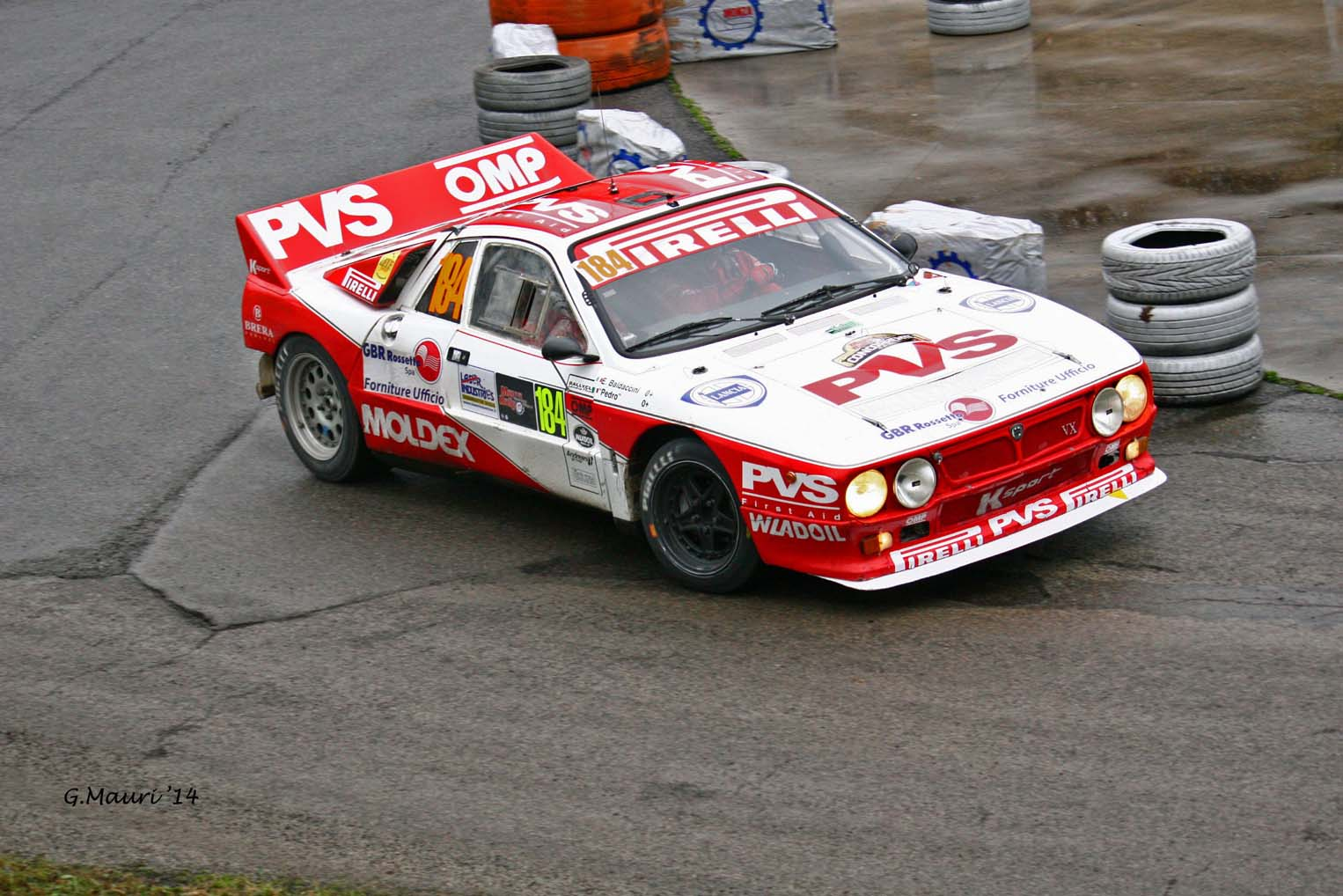 Pedro Baldaccini - Emanuele Baldaccini // Lancia 037
