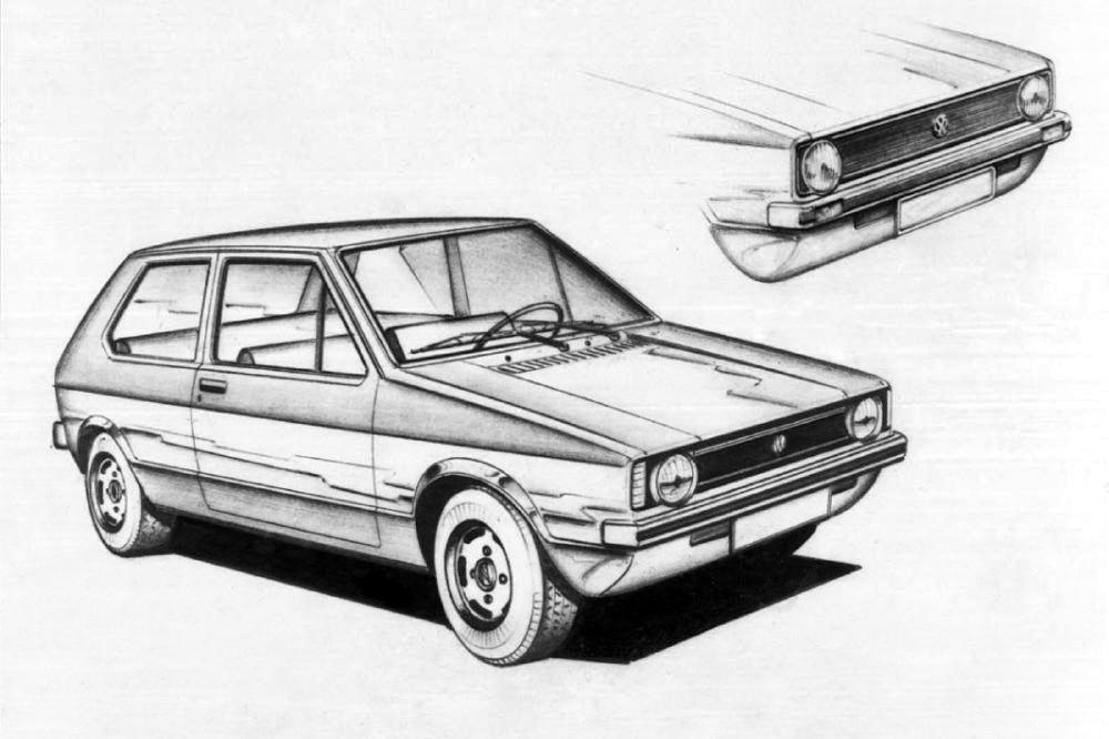 volkswagengolf disegni