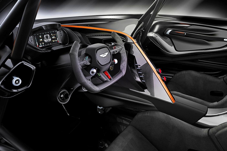 Aston Martin Vulcan interno