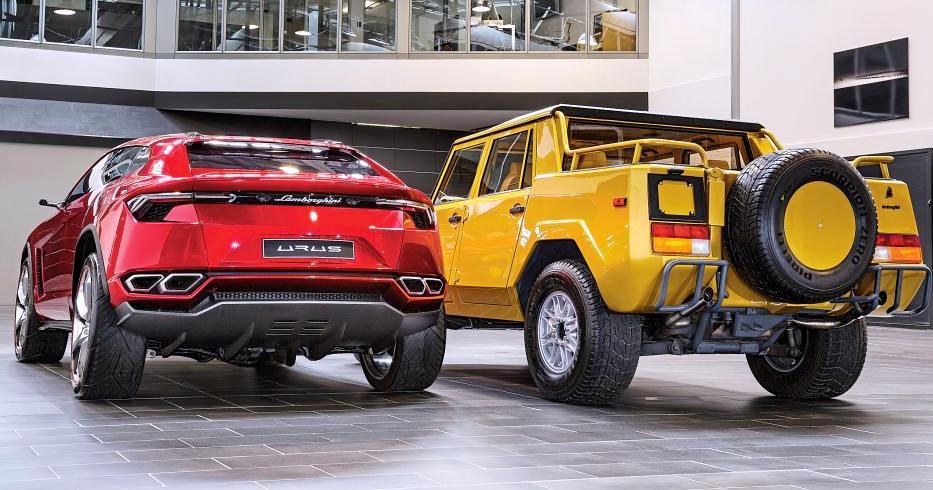 Lamborghini Urus e LM002