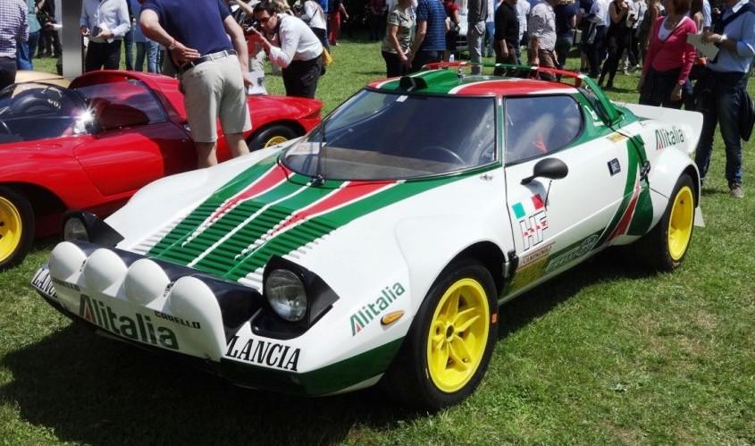 Lancia Stratos Rally Alitalia