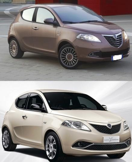 lancia ypsilon differenze