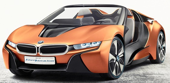 frontale BMW iVision Future Interaction