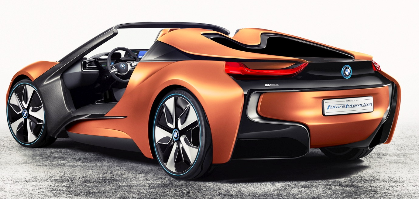 posteriore BMW i Vision Future Interaction
