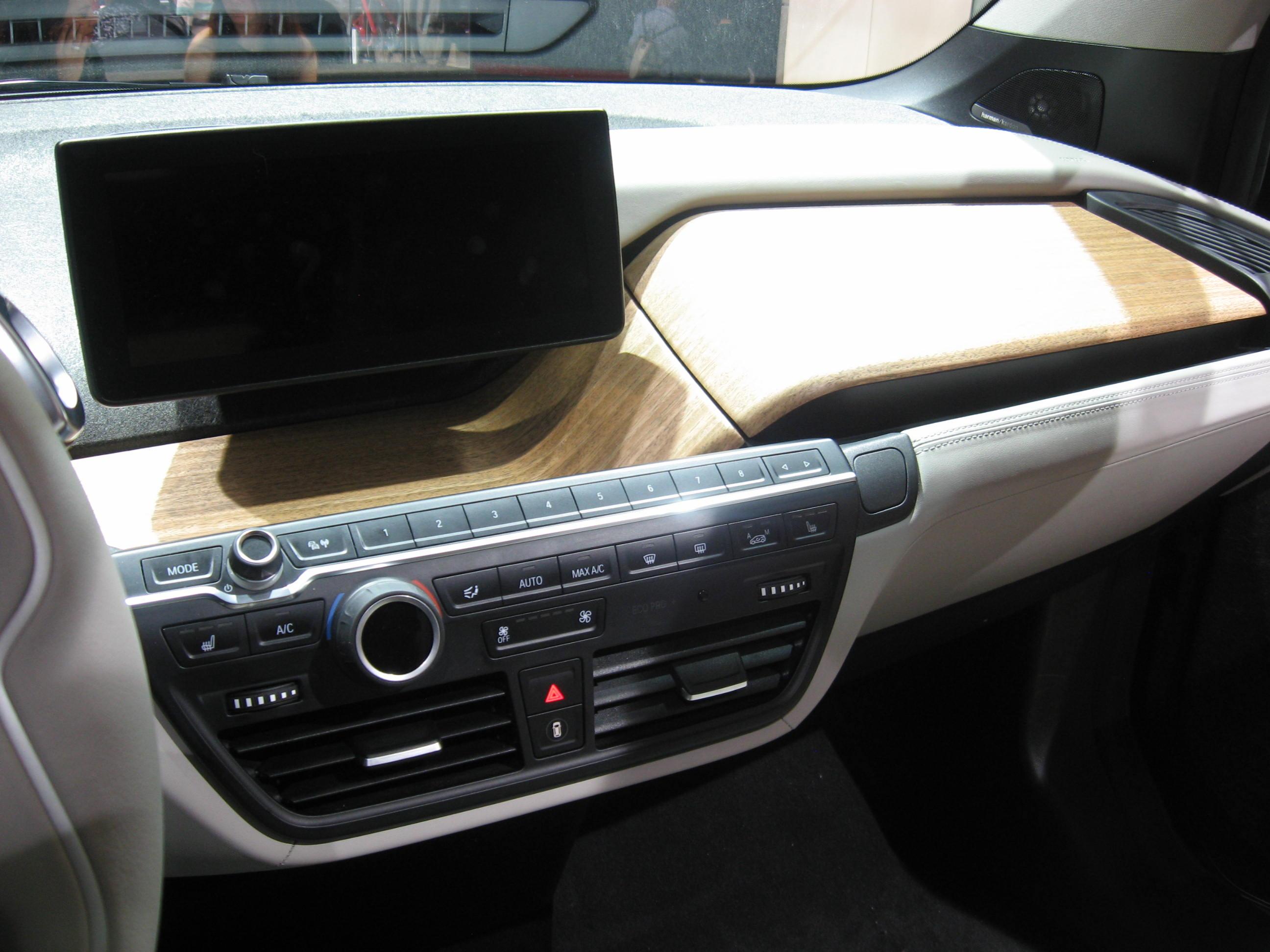 BMW i3 interno