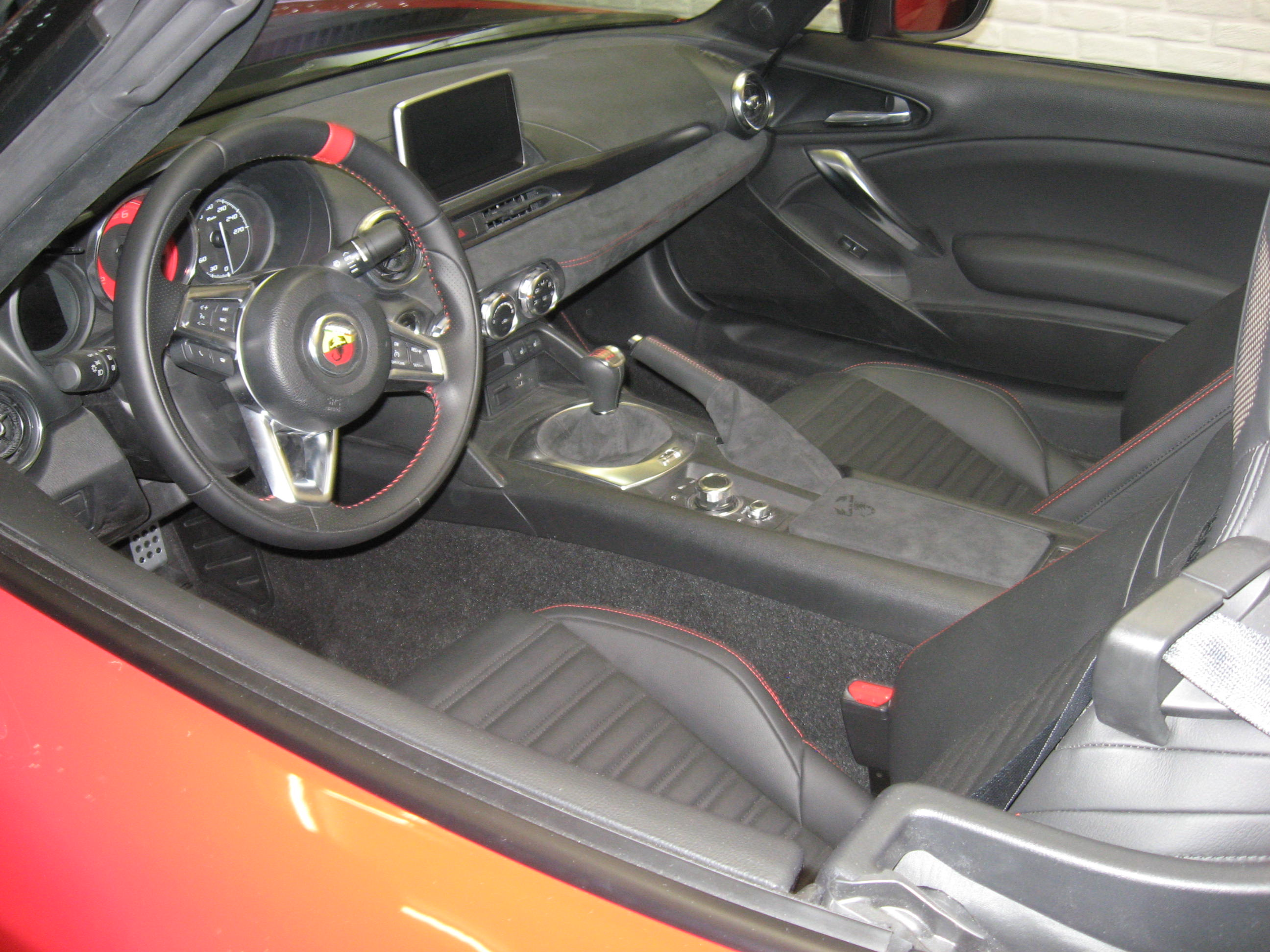 interno 124 Abarth