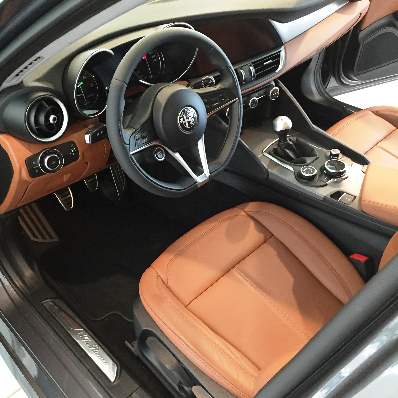 interni Alfa Giulia