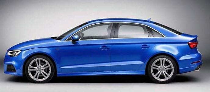 audi a3 sedan restyling