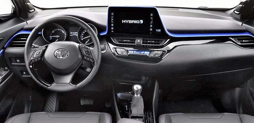 Toyota C-HR intetrno