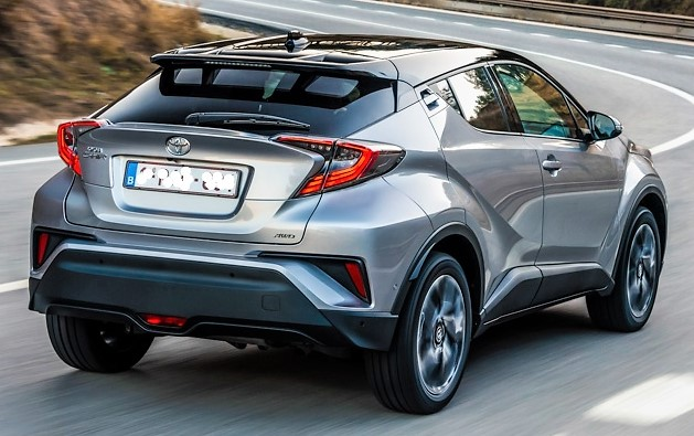 Toyota-CHR posteriore