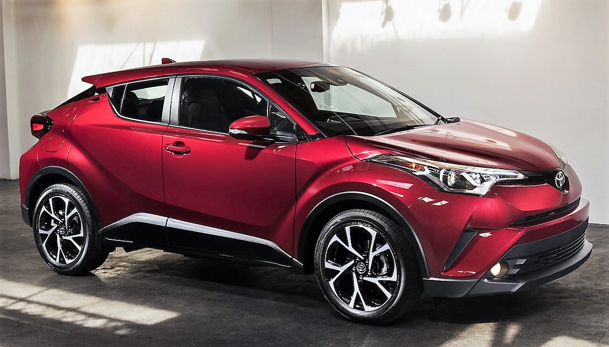 Toyota CHR red