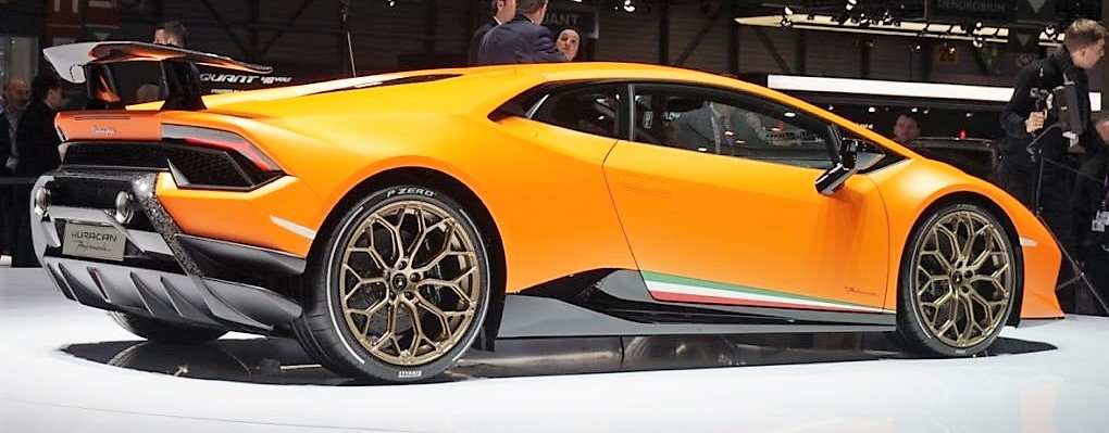 Lamborghini Huracan Performante ginevra