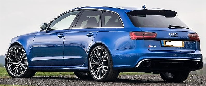 Stupisce la capacità di carico dell'Audi RS6.