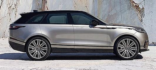 Molte componenti della Range Rover Velar sono in comune con la Jaguar F-pace