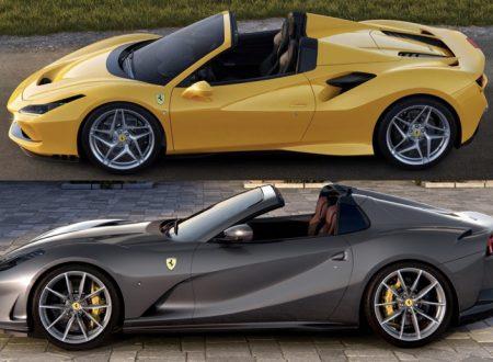 Ferrari F8 Spider e Ferrari 812 GTS